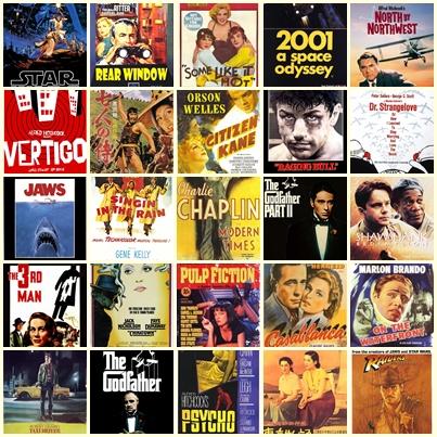 100 ภาพยนตร์ที่ดีที่สุดตลอดกาล จัดโดยนักวิจารณ์ชื่อดังมากมาย